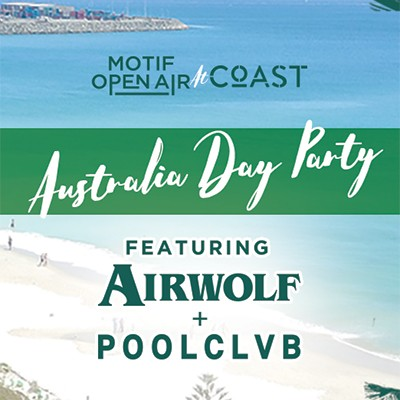 Aussie Day at Coast ft. Poolclvb & Airwolf