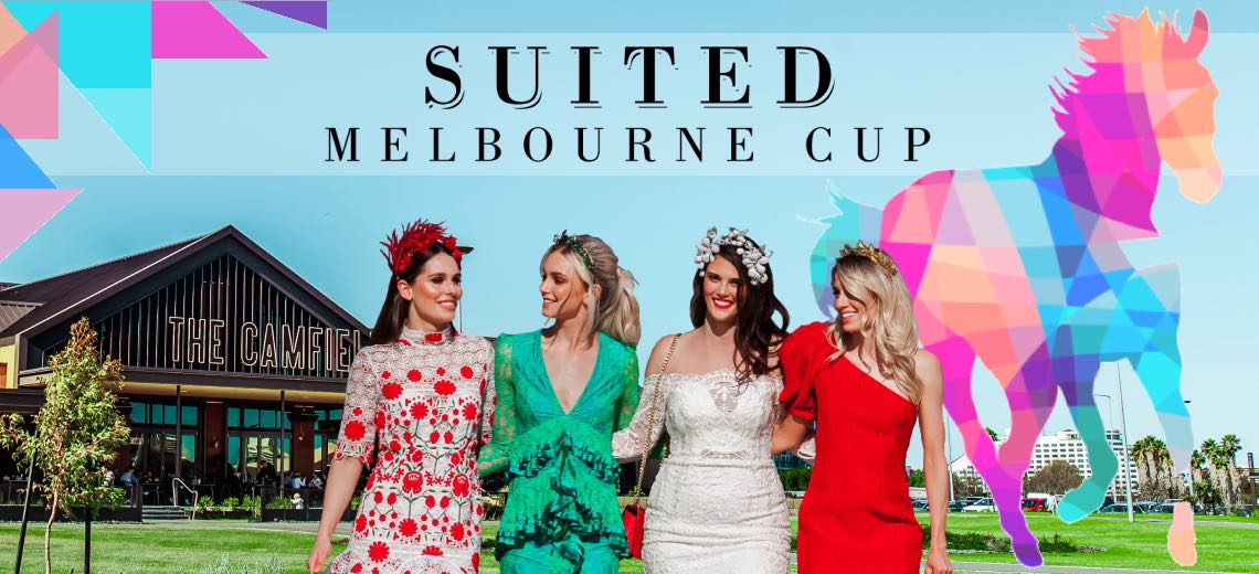 Suited Melbourne Cup