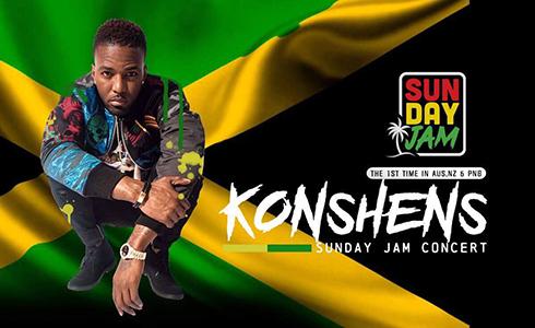 Konshens Sunday JAM Concert