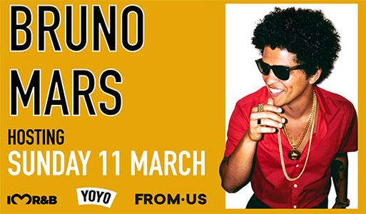 Bruno Mars Hosting