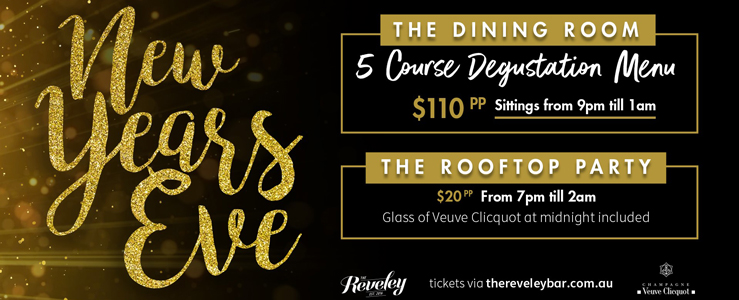 New Years Eve at The Reveley